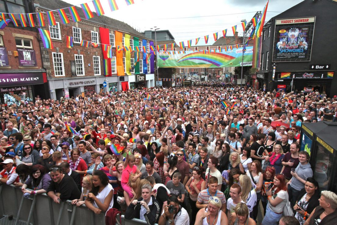 Leeds Pride taken by Terry George